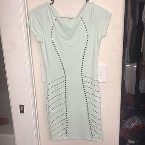 Bebe Mint Green Dress